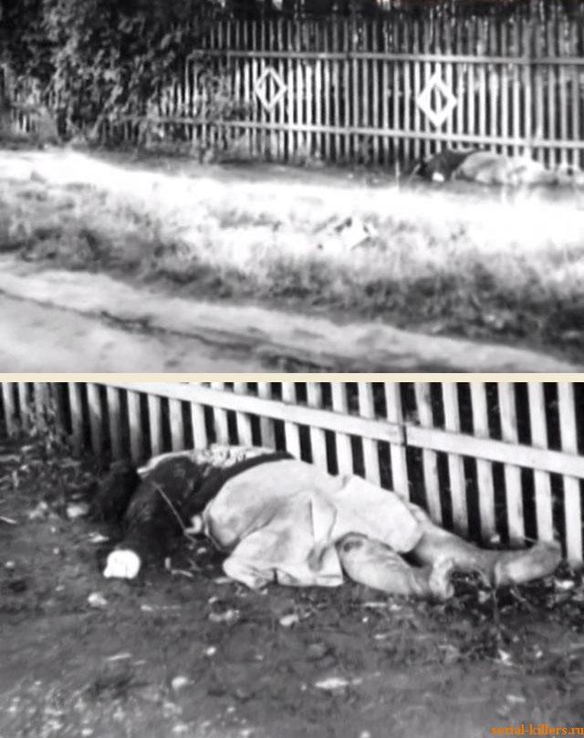 Место убийства Ольги Кудиновой