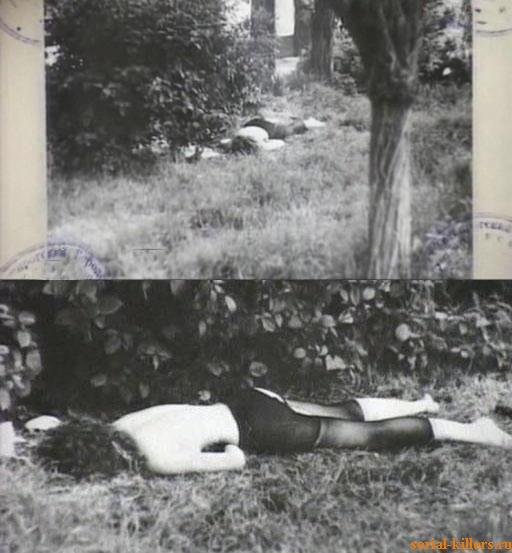 Место убийства А. Линебергер